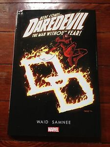 Daredevil-The-Man-Without-Fear-hardcover-Mark-Waid-volume-5-signed-Chris-Samnee