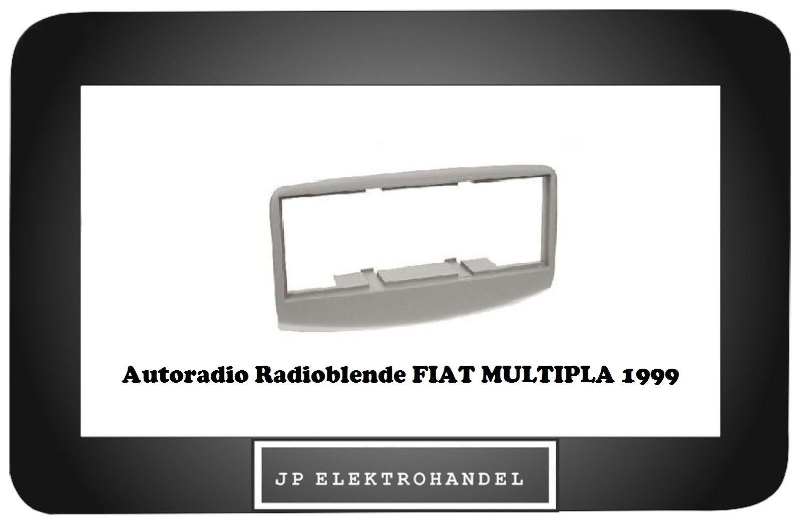 Radioblende DIN Autoradio für Fiat Multipla 1999-2000