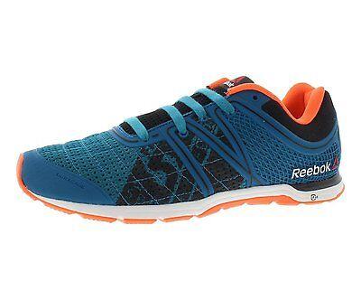 Reebok Para hombres Zapatos Breese One Velocidad Azul/Naranja