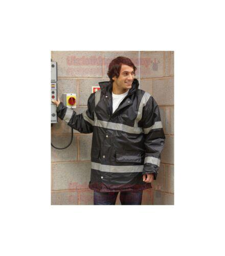 S M L XL 2XL 3XL Yoko Security Jacket Waterproof Work Coat mens parka