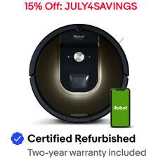 iRobot Roomba 980 Vacuum Cleaning Robot - Manufacturer Certified Refurbished!