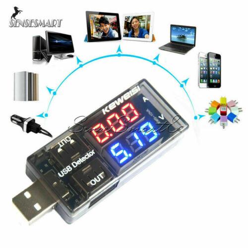 USB Ladegerät Doktor Strom Spannungsprüfer Batterie T Amperemeter E1A7 Volt F0X1