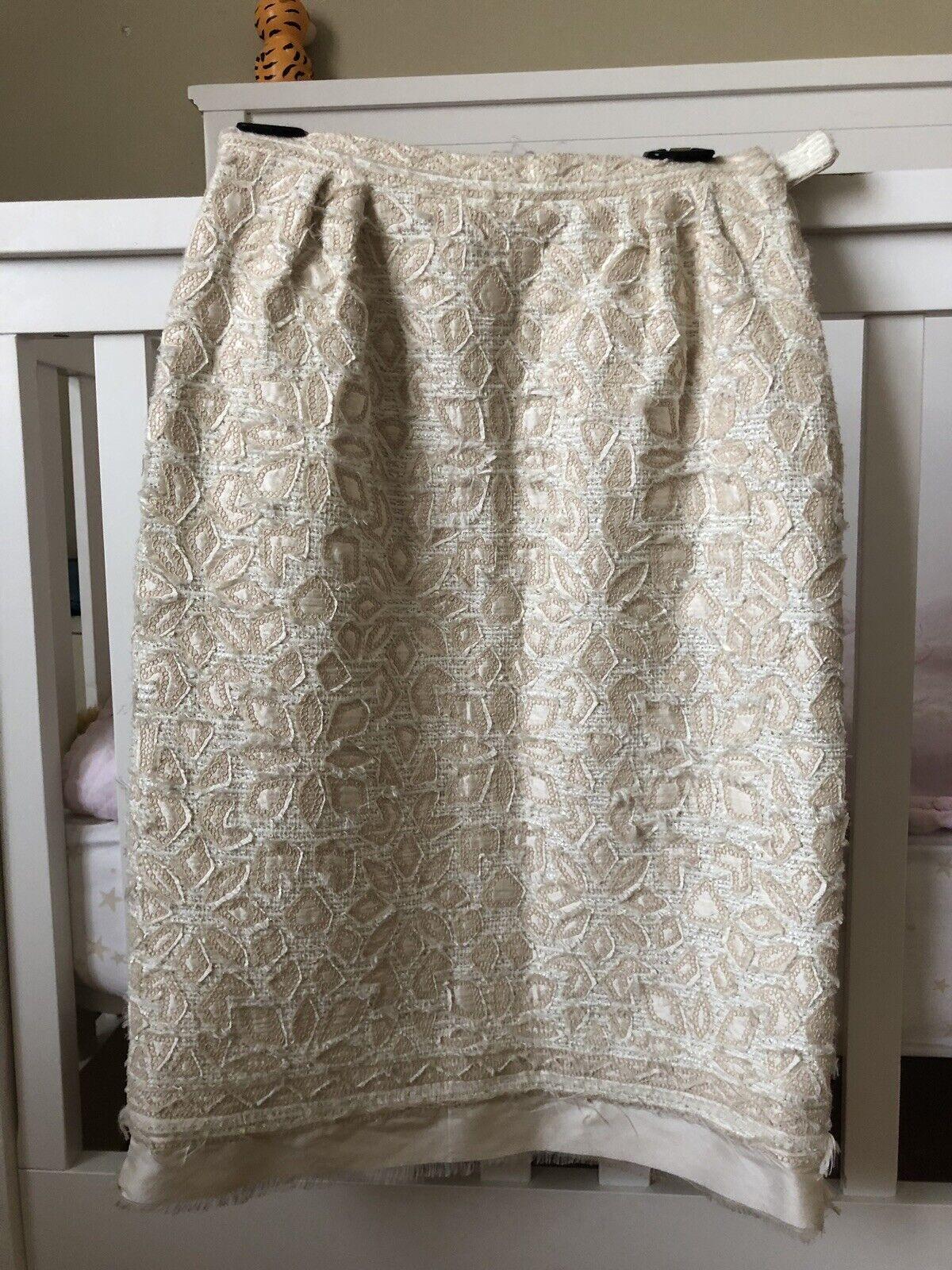 Oscar De La Renta Midi Skirt Womens  Sz 4