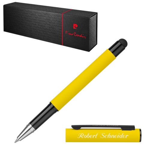 Farbe wählbar Pierre Cardin Tintenroller Stylus CELEBRATION mit Laser-Gravur