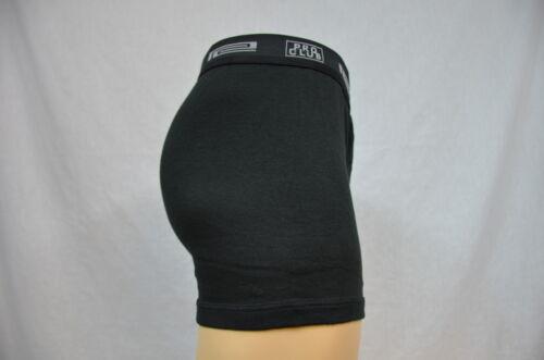 2 Nouveau ProClub Boxer Noir//Gris Hommes Sous-vêtements Shorts Pro Club 4XL 2PC
