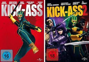 Kickass-1-amp-2-DVD-Set-neu-deutsch-Kick-Ass-Kick-Ass-I-II-neu-und-ovp-uncut