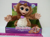 Furreal Friends - baby Cuddles - My Giggly Monkey Pet - Ages 4 & Up