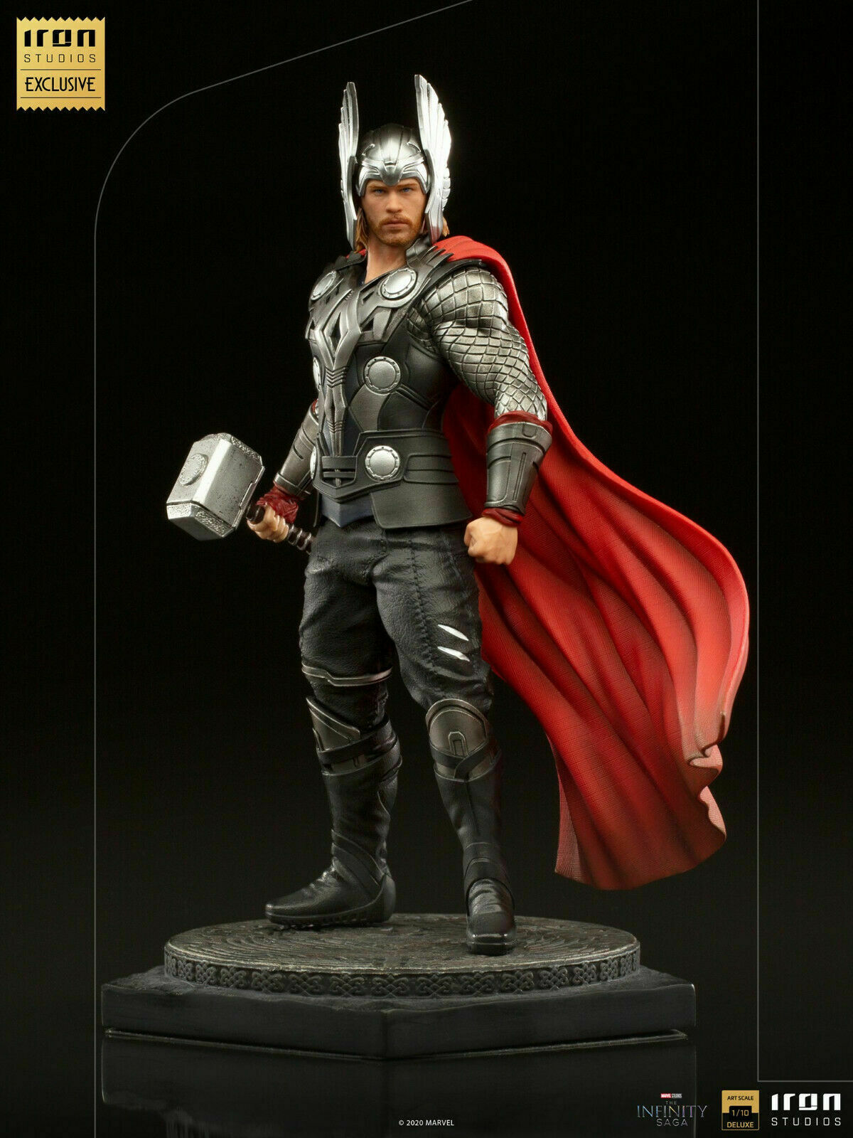 Iron Studios Thor Deluxe Art Scale 1/10 - Infinity Saga - EXCLUSIVE CCXP 2020 on eBay thumbnail
