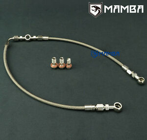 MAMBA-AVCS-Turbo-Oil-Feed-Line-For-02-06-WRX-04-14-STI-IHI-RHF55-For-Subaru