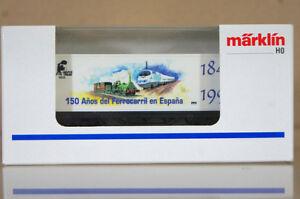 MARKLIN-MaRKLIN-4481-C0074-RENFE-150-ANOS-DEL-FERROCARRIL-EN-ESPANA-CONTAINER