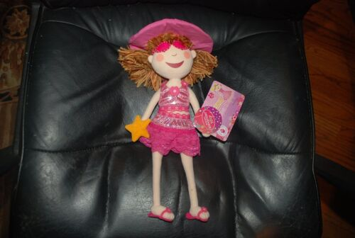 Pinkalicious 12'' Cloth Doll with Sunglasses, new by Madame Alexander