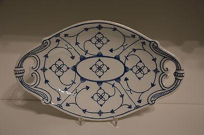 Servierplatte Indisch Blau Strohblume Reinecke