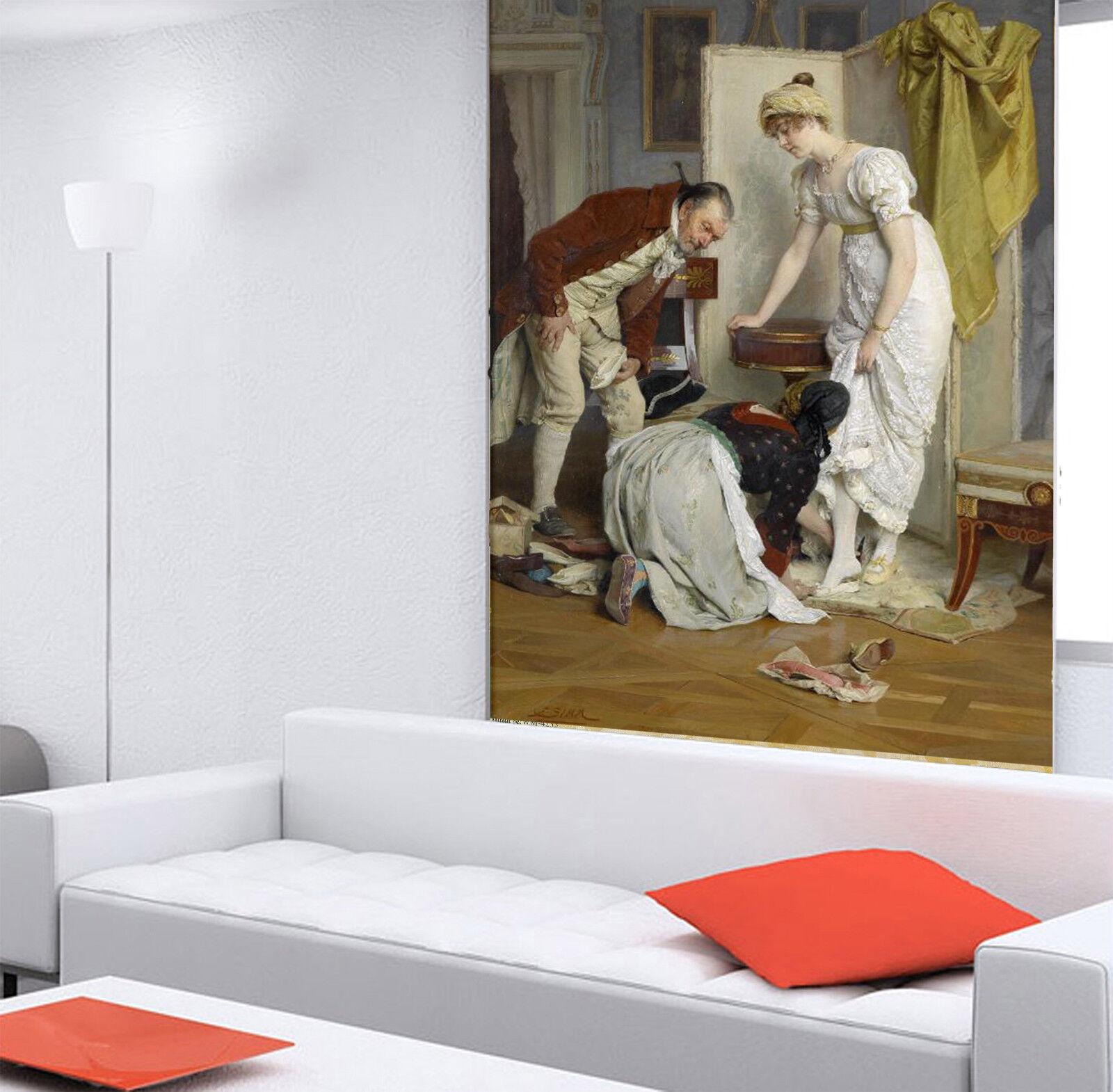 3D Aristocratic Maid 8 Wall Paper Murals Wall Print Wall Wallpaper Mural AU Kyra