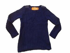 7-8 5-6 /& M NWT Gymboree Girls Mod About Orange Sweater Navy S