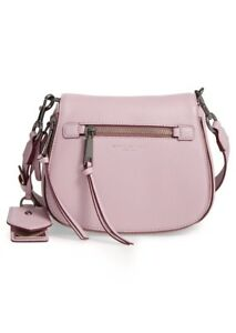 3310529080a1 Image is loading Marc-Jacobs-Small-Recruit-Nomad-Pebbled-Leather-Crossbody-