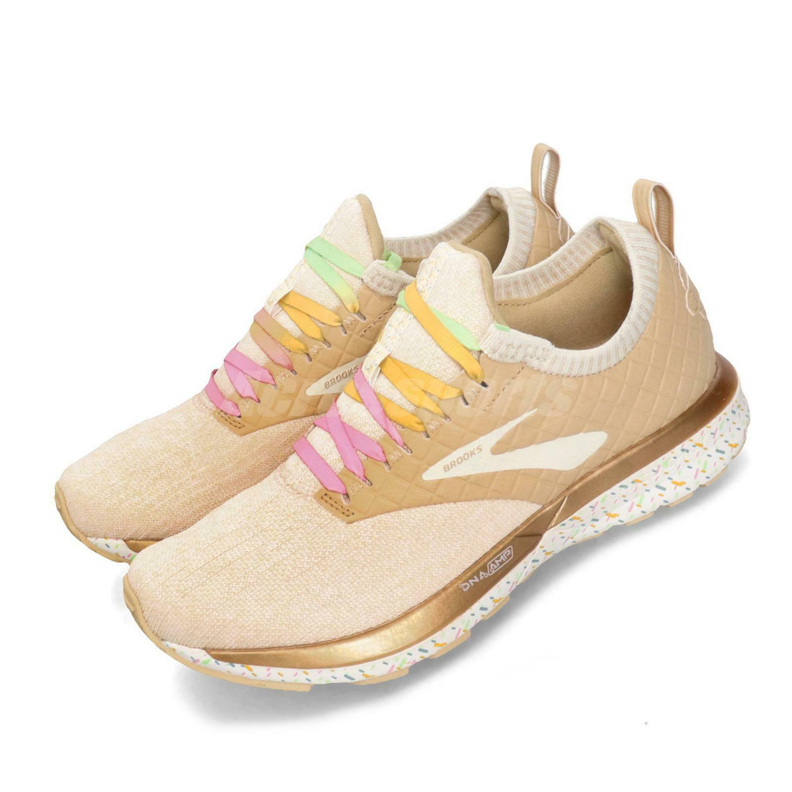 Brooks Ricochet LE Dessert Edition Beige Pink Women Running shoes 120292 1B