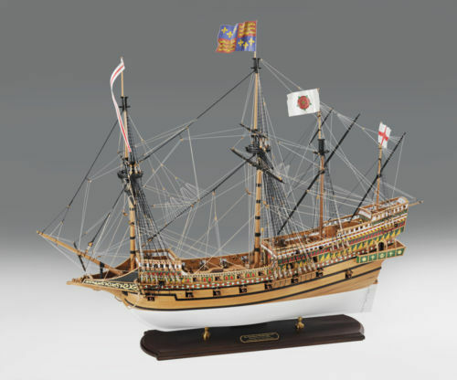 Amati Elizabethan Galleon Revenge 35 Wooden Tall Ship Model Kit Victory Series