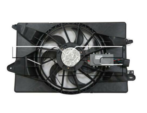 TYC 623340 Dual Rad/& Cond Fan Assy for Chrysler 200 2015-2016 Models