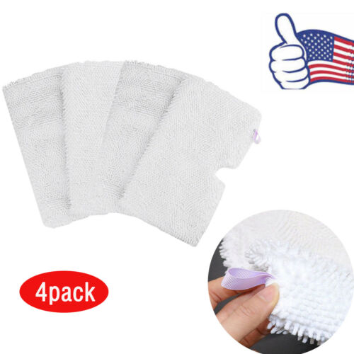 4 Pcs Replacement Pads for Shark Steam Pocket Mop Pad S3501 S3601 S3901 US Ship