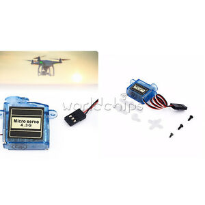 Tiny Micro Servo 3.7g  4.3g For RC Airplane Helicopter Drone Boat For Arduino