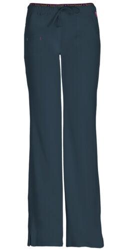 Scrubs HeartSoul Low Rise Drawstring Pant 20110 PEWH Pewter Free Shipping