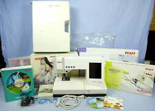 Pfaff Computerized Sewing Embroidery Machine 2140 upgraded to 2170 w/Accessories