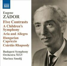 Five Contrasts/a Children's Symphony Aria & Allegr, New Music