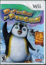Defendin' de Penguin  (Nintendo Wii, 2008) Factory Sealed