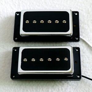 Les-Paul-P90-Electric-Guitar-Pickups-Humbucker-Set-of-2-Magnet-Ceramic-Pickups