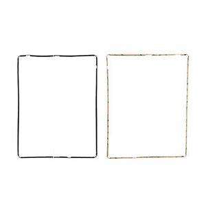 iPad 3//4 Black Mid Frame Bezel Digitizer Touch Screen Frame Replacement Part
