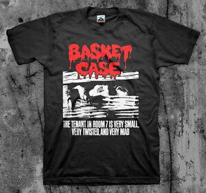 5c9bc5cc373 BASKET CASE - Movie T Shirt (Cult Comedy Horror Gore Slasher)