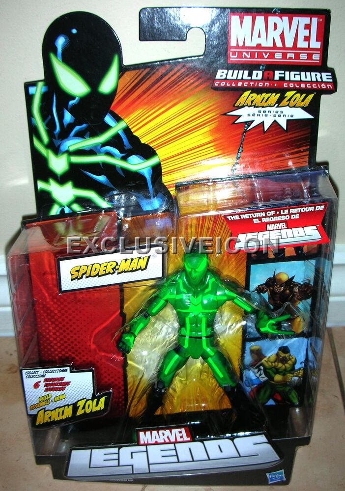 2012 rückkehr von marvel legenden arnim zola baf große spider - man für verkauf