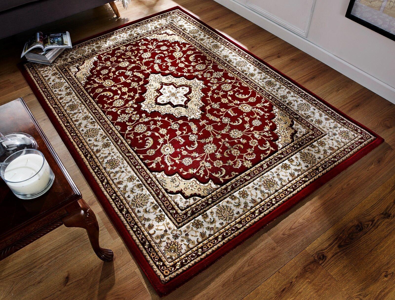 Ottoman temple traditionnelle sculptée à la main rouge tapis tapis tapis en différentes tailles et runner | Supérieurs Performances  e0782c
