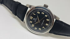 USED VINTAGE 60'S OMEGA SEAMASTER BLACK DIAL AUTOMATIC 501 MAN'S WATCH
