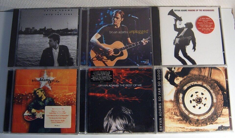 Bryan Adams: 6 Titler, rock