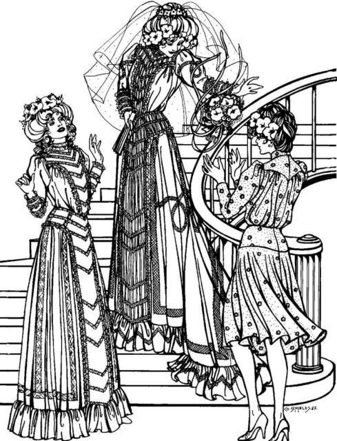 folkwear edwardian wedding dress vintage bridal gown sewing pattern Vintage Wedding Gowns folkwear edwardian wedding dress vintage bridal gown sewing pattern only 227