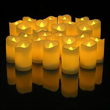 48 PCS Flameless Votive Candles Battery Operated Flickering LED Tea Light