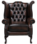 Brand-New-Chesterfield-Queen-Anne-High-Back-Wing-Chair-In-Antique-Real-Leather thumbnail 12
