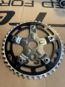 Old School Bmx Sugino Spider Chainring And Stamped Sugino Bolts