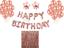 Or-Rose-Heureux-anniversaire-Bunting-Banniere-Ballons-guirlandes-Rideau-Decorations miniature 40