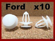 10 FORD push type retainer bumper fender clip fastener front rear 55K