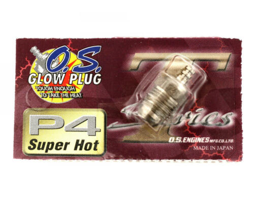 SPEED ENGINES GLOW PLUG P4 TURBO SUPER HOT OFF ROAD NITRO BUGGY 1//8 RC CARS O.S