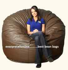 "DAYORG Super BIG Jumbo XXXXL 52"" Brown Bean Bag Cover only"