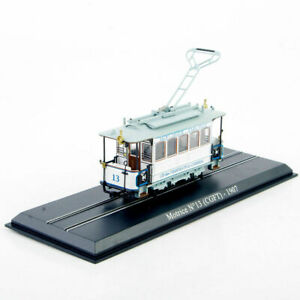 Atlas-Alliage-moule-sous-pression-echelle-1-87-Tram-modele-Motrice-n-13-CGFT-1907-Vehicules-Jouets