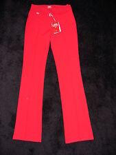 Hose Miss Sixty Basic Roxy rot W 25 gerades Bein Business elegant schlicht