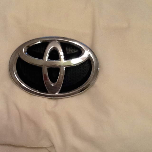 Genuine Toyota Front Grille Emblem For Sale Online