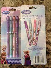 Disney Frozen Anna Elsa Olaf Pop-Up Pencils Birthday Party Supplies