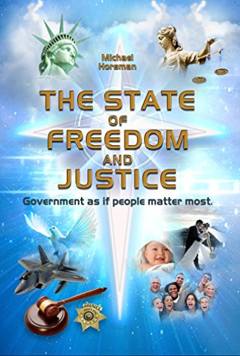 Michael Horsman-The State Of Freedom And Justice BOOK NEUF
