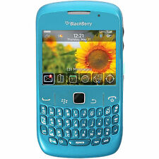 Blackberry 8520 Curve GSM Quadband Phone (Unlocked) - Sky Blue
