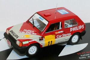 Altaya 1/43 Scale - Seat Marbella Proto - Rally De Tierra De Aviles 1988 #11